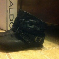 Time to Stud-y Booties from Secondhand Lovin'