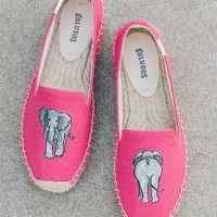 Elephant Platform Smoking Slipper