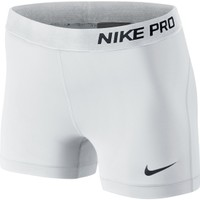 "Nike Women's Pro Core 3"" Compression Shorts"