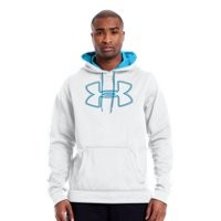 Under Armour Mens Armour® Fleece Storm Outline Big Logo Hoodie