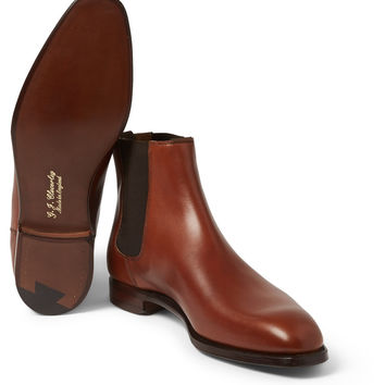 George Cleverley - Leather Chelsea Boots | MR PORTER
