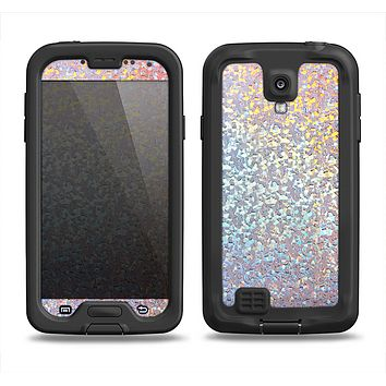The Colorful Confetti Glitter Sparkle Samsung Galaxy S4 LifeProof Nuud Case Skin Set