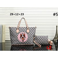 GUCCI Tide brand animal pattern embroidery shopping bag shoulder bag Messenger bag two-piece #5