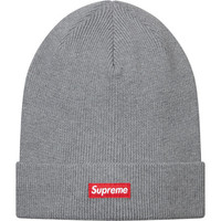Supreme: Solid Beanie - Heather Grey