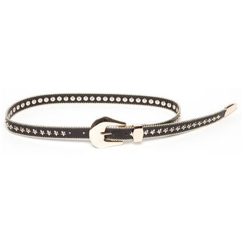 B-LOW THE BELT | Stella Belt - Black/Gold