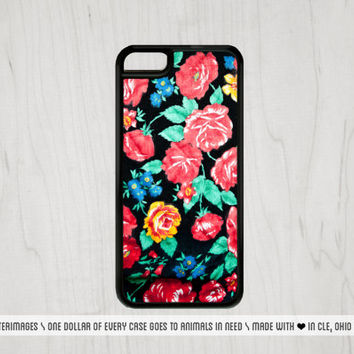 Vintage Floral iPhone Case Floral iPhone Case Vintage Floral iPhone 6 Case iPhone 5 Case iPhone 5C Case Spring iPhone 5S Case