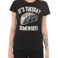 It's Tuesday Somewhere Girls T-Shirt