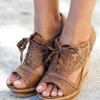 Addilyn Tan Wedges
