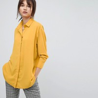 ASOS Longline Soft Shirt at asos.com