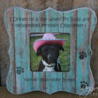 Pet frames Dog frames personalized pet gifts pet loss gifts pet memorials memorial frames Pit Bulls rescue pets rescue dogs