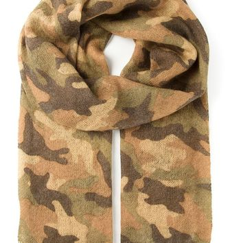 Michael Michael Kors camouflage pattern scarf