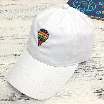 Cool Colorful Balloon Embroidered Baseball embroidered cap Hat