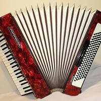 Perfect Weltmeister Stella 120 Bass 11+3 Registers. Piano German Accordion 206