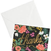Birch Floral Thank You Card Set