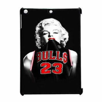 LMFUG7 Marilyn Monroe Chicago Bulls Jersey Michael Jordan iPad Air Case