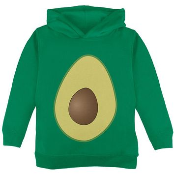 Halloween Avocado Costume Toddler Hoodie