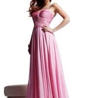 Sherri Hill 2560, Long Gown with Stunning Straps - 2011 Collection