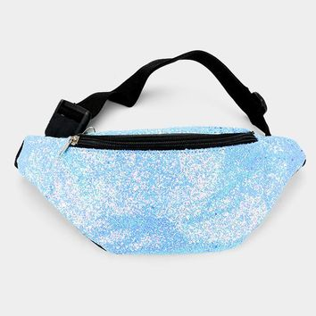 Glittered Tiny Sequin Fanny Pack
