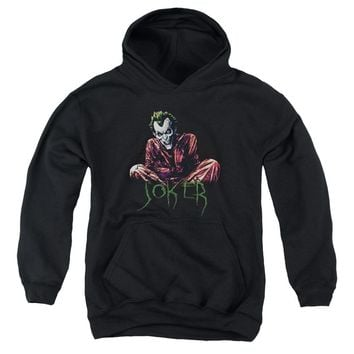Batman - Straight Jacket Youth Pull Over Hoodie