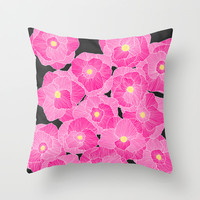 In Bloom Throw Pillow by Skye Zambrana