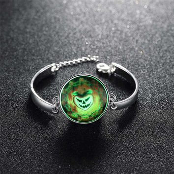 Great Deal Hot Sale Awesome Shiny New Arrival Gift Stylish Accessory Skull Terrible Noctilucent Bracelet [8065790145]