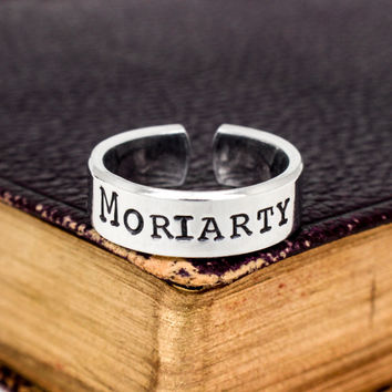 Moriarty - Sherlock - Adjustable Aluminum Cuff Ring