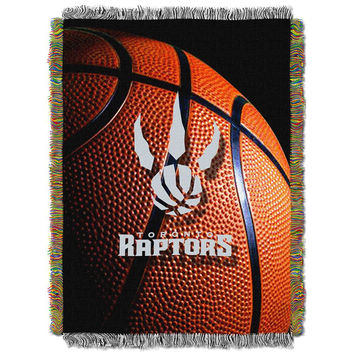 Toronto Raptors NBA Woven Tapestry Throw (48x60)