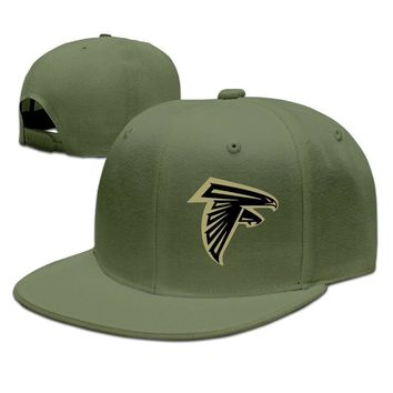 Atlanta Falcons Salute To Service Logo Printing Unisex Adult Womens Baseball Hats Mens Snapback Caps