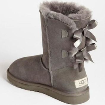 2018 Original UGG Women male Fashion Wool Snow Boots
