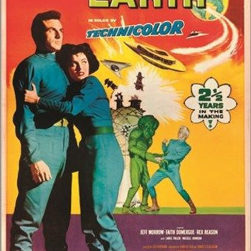 THIS ISLAND EARTH vintage SCI-FI poster CREEPY CAMPY GOOFY collectors 24X36