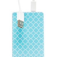 Chic Buds Kendra Slim Power Battery in Blue