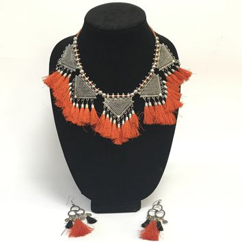 Garaba Oxidized Necklace