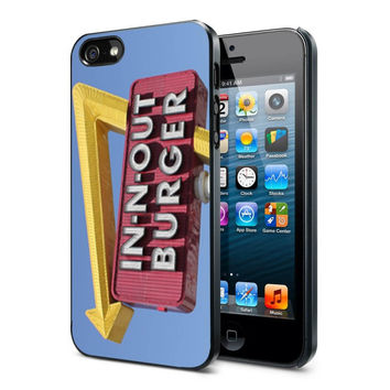 in n out burger funny iPhone Case and Samsung Galaxy Case