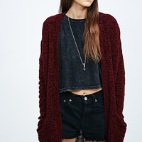 Pins & Needles Chenille Cardigan - Urban Outfitters
