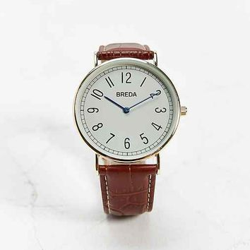 Breda 1660 Simple Number Watch-