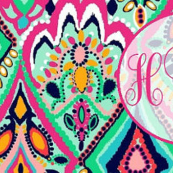 Lilly Pulitzer & Chevron Inspired Facebook Timeline Monogram Covers