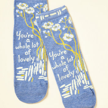 Compliment the World to Me Socks | Mod Retro Vintage Socks | ModCloth.com