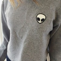 Brandy & Melville Deutschland - Acacia Alien Patch Sweater