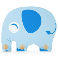 Wooden Elephant Clothing Rack