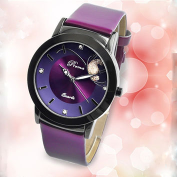 Relogio Feminino Quartz Watch Fashion Watch Women Luxury Brand PREMA Leather Strap Watches Ladies Wristwatch Relojes Mujer 2016