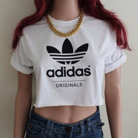 Adidas Reworked Cropped Tshirt