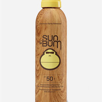 SUN BUM SPF 50 Sunscreen Spray Lotion (6oz) | Beach Gear