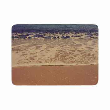 "Violet Hudson ""Ombre Beach"" Brown Blue Memory Foam Bath Mat"