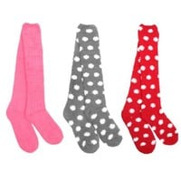 BambooMN - Socks Women's Microfiber Fuzzy Socks (3 Pair)