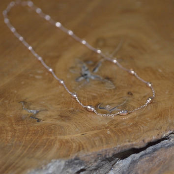 Honey Bee Hive Link Necklace