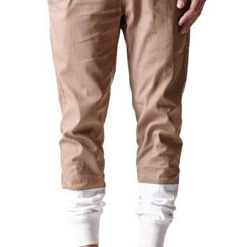 The New Standard Edition Slim Twill Jogger Pants - Mens Pants - Tan