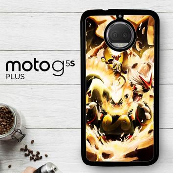 Pokemon Charizard Infernape Z0656  Motorola Moto G5S Plus Case