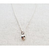 Fortune Cookie Necklace - Sterling Silver Jewelry
