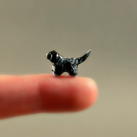 Custom Micro Dog - Made To Look Like Your Dog - Hand Sculpted Miniature Polymer Clay Animal