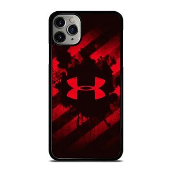 UNDER ARMOUR RED STRIPE LOGO iPhone Case Cover